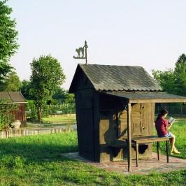 Raymond E. Waydelich, Hommage de Lydia Jacob aux jardins familiaux, 1999 / photo : K. Stöber