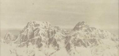 téphane Lallemand Sans titre 2003 4 photographies Tirages photographiques albuminés, papier salé viré à l'or 16 x 22 cm, 16 x 26 cm, 17 x 48 cm, 17 x 46 cm