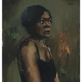 A Head for Poison, 2011, Oil on canvas  50 x 40 cm, LYB11-15