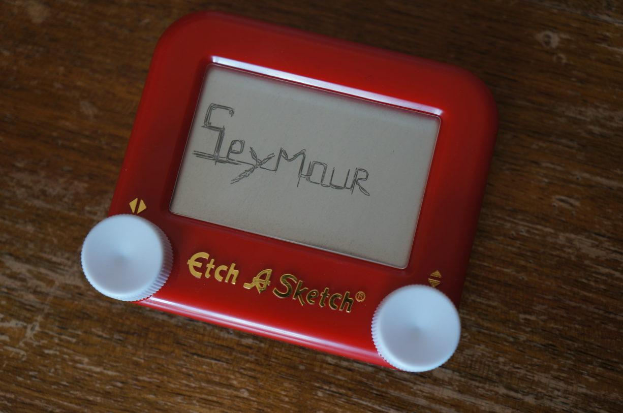 Buddy Glass, Seymour sketch, 2014
