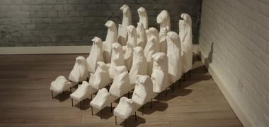 Mostro 162,5 x 83 x 174 cm technique mixte 2014