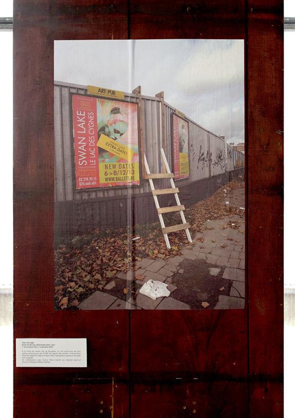 Ultralocal (vue d'exposition), Collective Disaster, BXL swings in the cracks, 2013-en cours, crédit photo: R.Görgen
