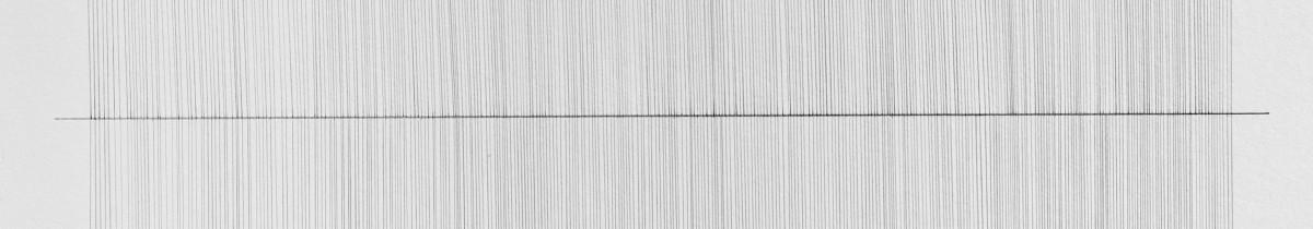 Lena Ditlmann, WEAVE, crayon sur papier, 42x58cm, 2016