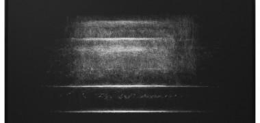 Susan Morris Détail de Erased: View From Side et Erased : Facing View 2012 De la série Motion Capture Drawings Impression jet d'encre sur papier Archive Hahnemühle sous Plexiglas 2 x (150 x 240 cm)