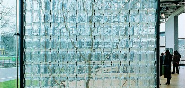 François Yordamian TAXINOMIE 1987, L'arbre 1987 Installation Arbre, 285 bocaux, châssis métal, câbles, fil nylon 300 x 150 x 11 cm Photo : Jean-Louis Hess