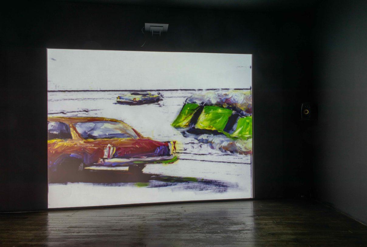"""Patrick Nardin, """"Racing"""", 2007, photographie : Klaus Stöber"""
