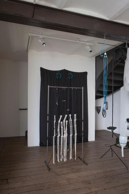 """Lisa Biedlingmaier, vue de l'exposition """"Liaison"""", Espace international, crédits :  Lisa Biedlingmaier & Ulrika Jäger"""