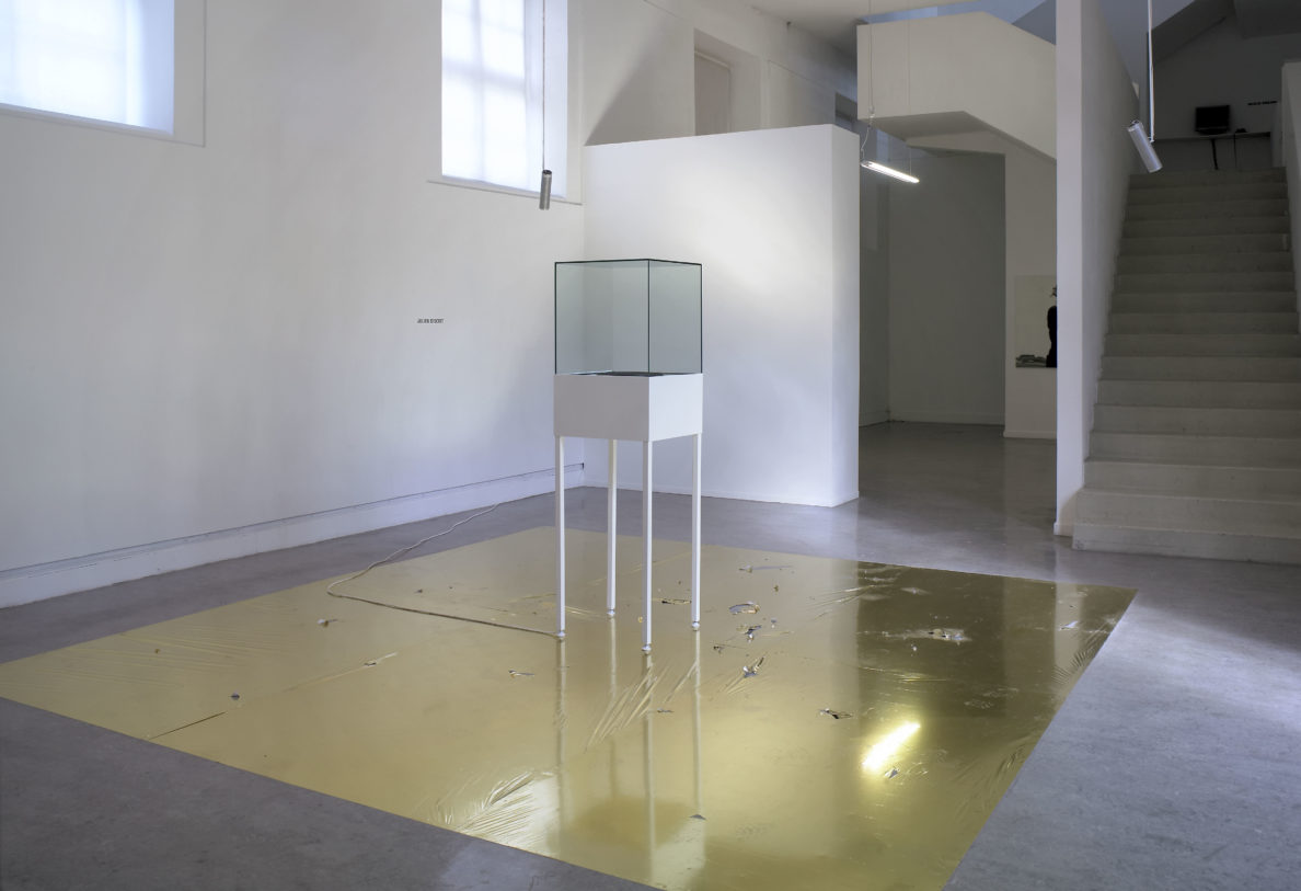 Julien Discrit, Disque d'or – Voyager Live, 2005, installation sonore, dimensions variables, Frac Champagne-Ardenne © Julien Discret