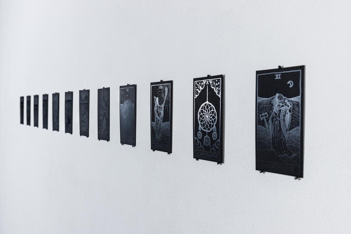 Jonathan Naas, Superstition / Supervision, Tarot d'Alma, arcanes majeures, 2020 (c) Sébastien Zimmermann