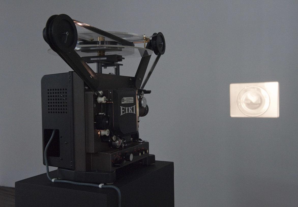 Launderama,film 16 mm, 9 min en boucle, 1989 Photo : Klaus Stöber