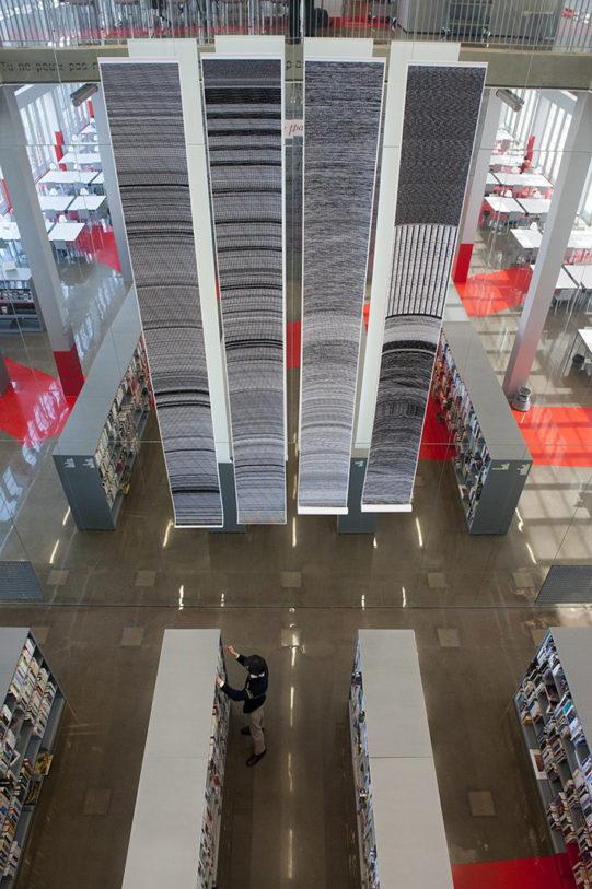 Lidia Sigle – Bibliothèque André Malraux, Strasbourg – Photo : Klaus