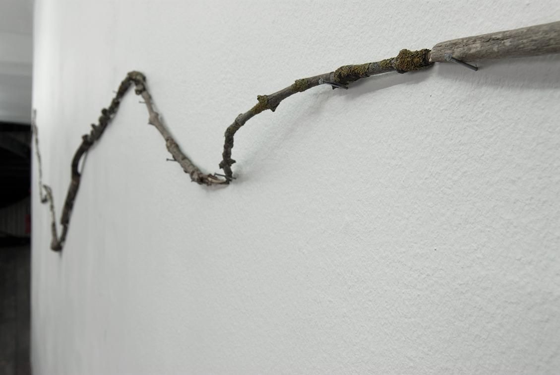 Katinka Bock – Partition en automne, détail, 2009 – Photo: Klaus Stöber