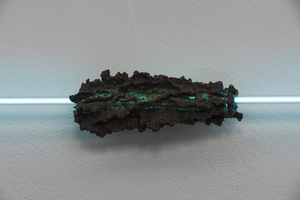 Evariste Richer – Fulgurite, 2008 – Collection Freché, Bruxelles – Photo : Klaus Stöber