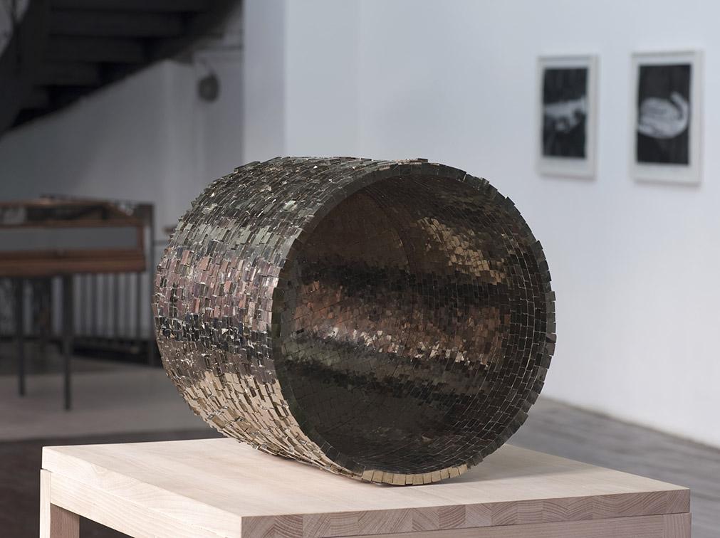 Hubert Duprat – Cristaux de pyrite, 2007-2008 – Collection Frac Franche-Comté – Photo : Klaus Stöber