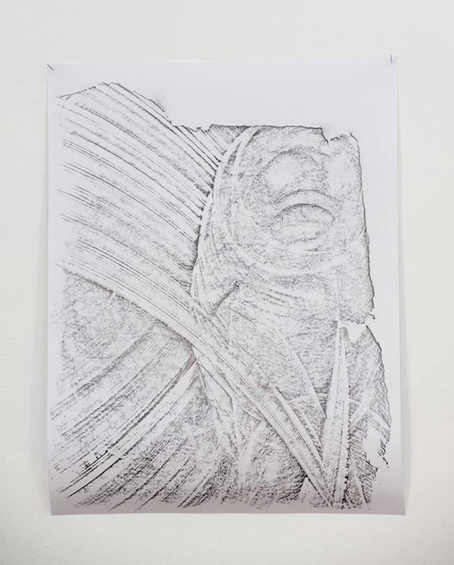 Gyan Panchal – Sans titre, 2010 – Courtesy: Galerie Frank Elbaz, Paris – Photo : Klaus Stöber