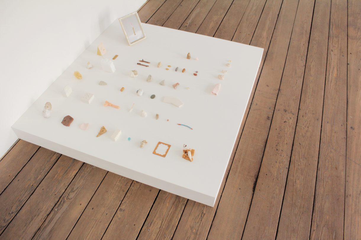 Magali Baribeau-Marchand, Fragments, 2019, vue d'exposition, Espace international du CEAAC