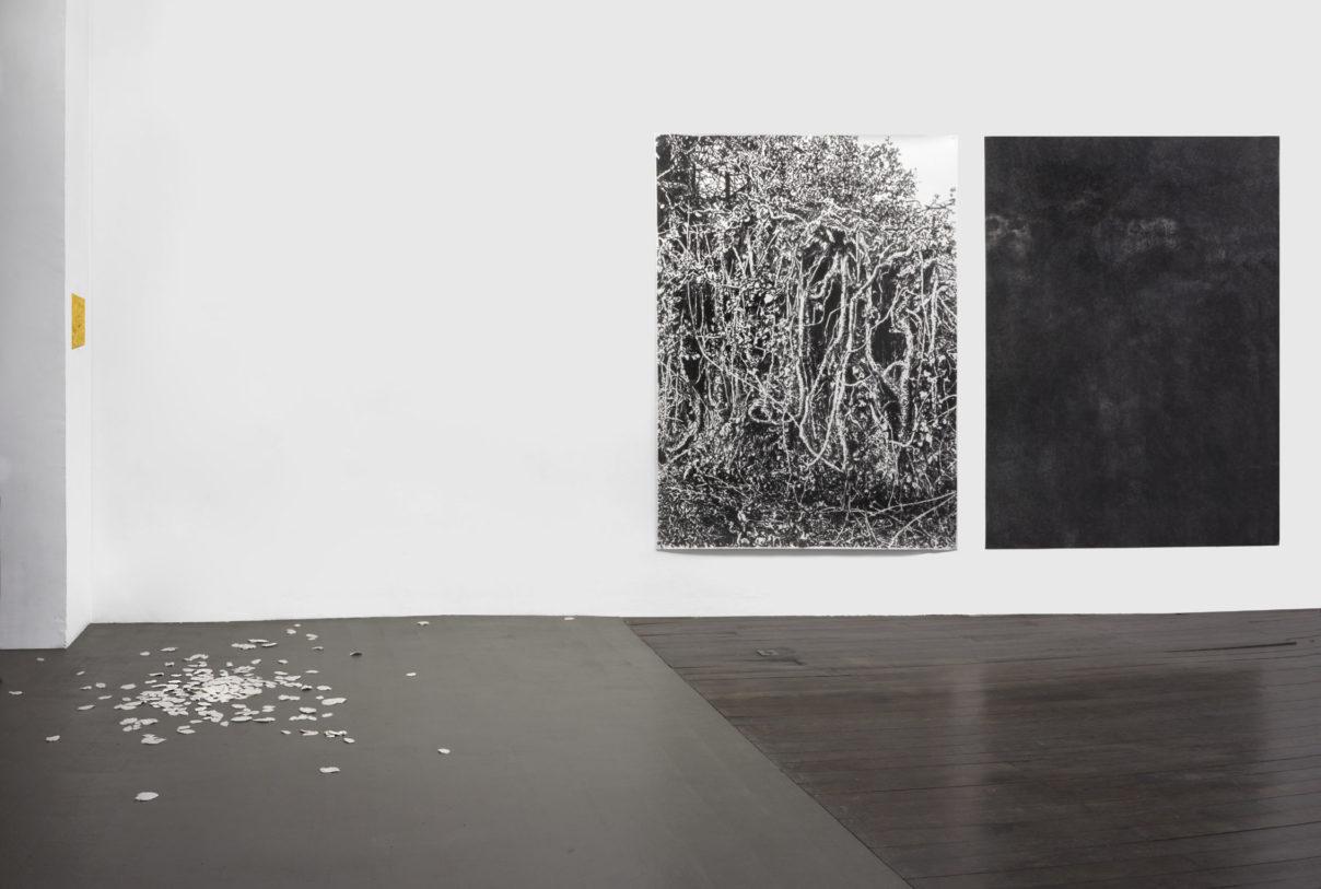 François Génot, installation de différentes œuvres, 2020 © photo: R. Görgen.