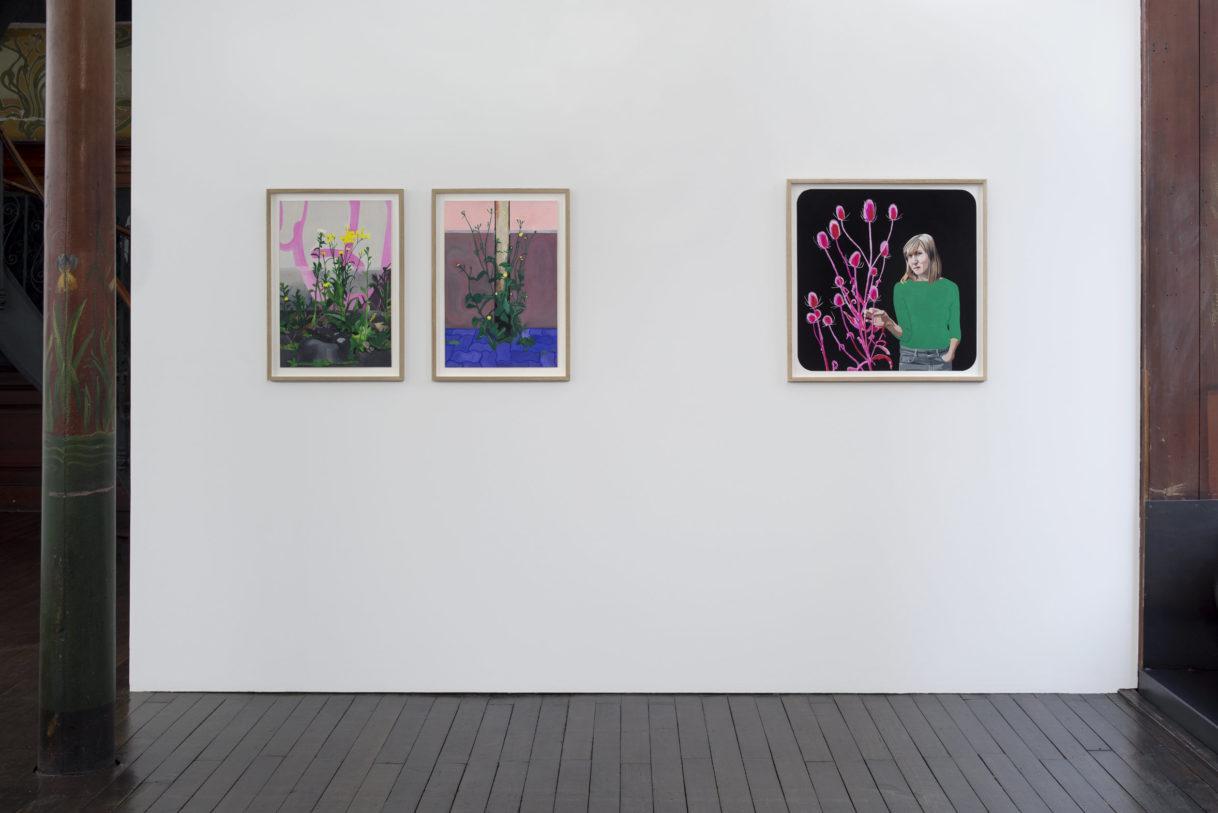 Camille Brès, ensemble d'œuvres, 2020 © photo: R. Görgen.