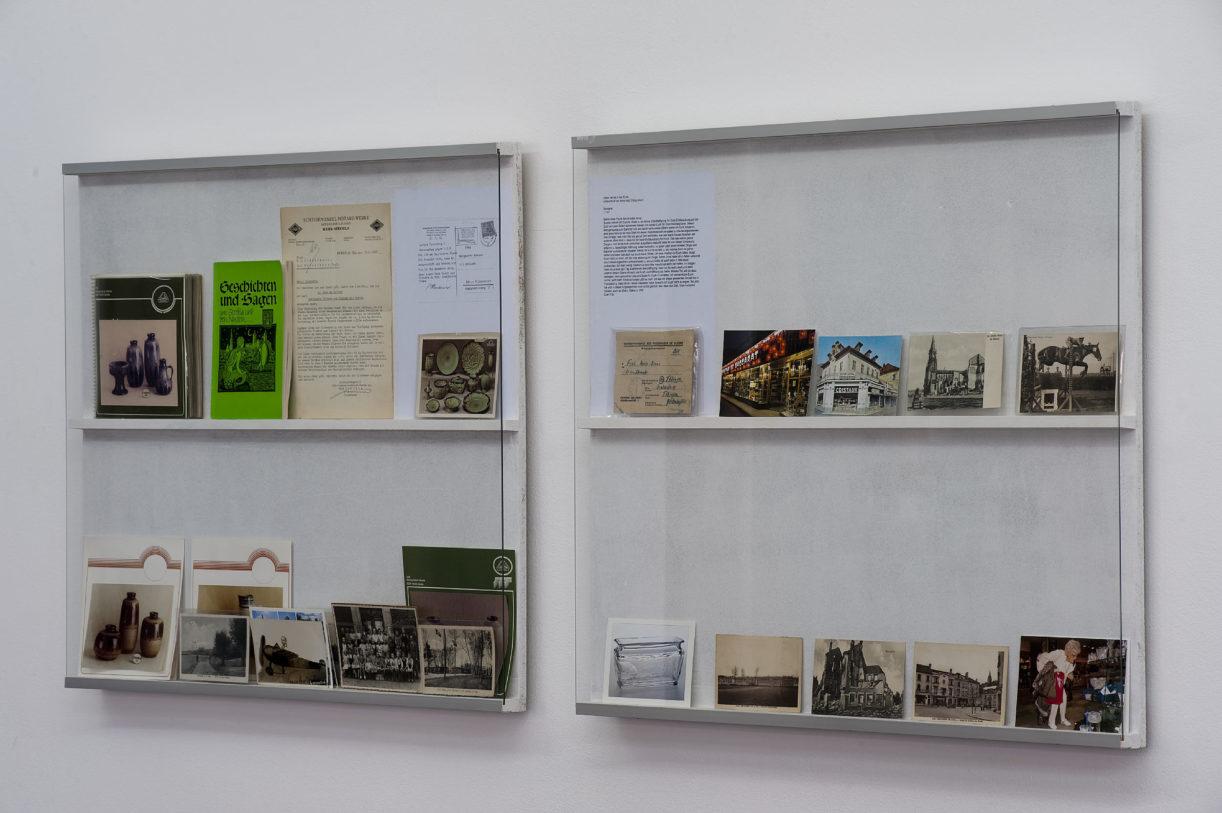 Documents divers concernant la faïencerie de Strehla, Strehla sur l'Elbe et Lorenzkirch – Lettre et cartes postales de Baccarat © photo: Klaus Stöber