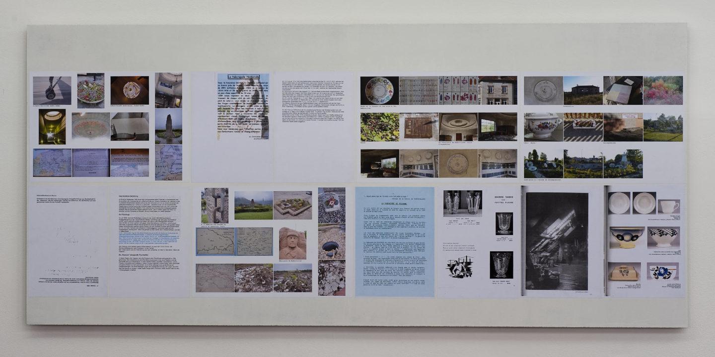 Documents et photographies, M. Pernice et B. Klein © photo: Klaus Stöber
