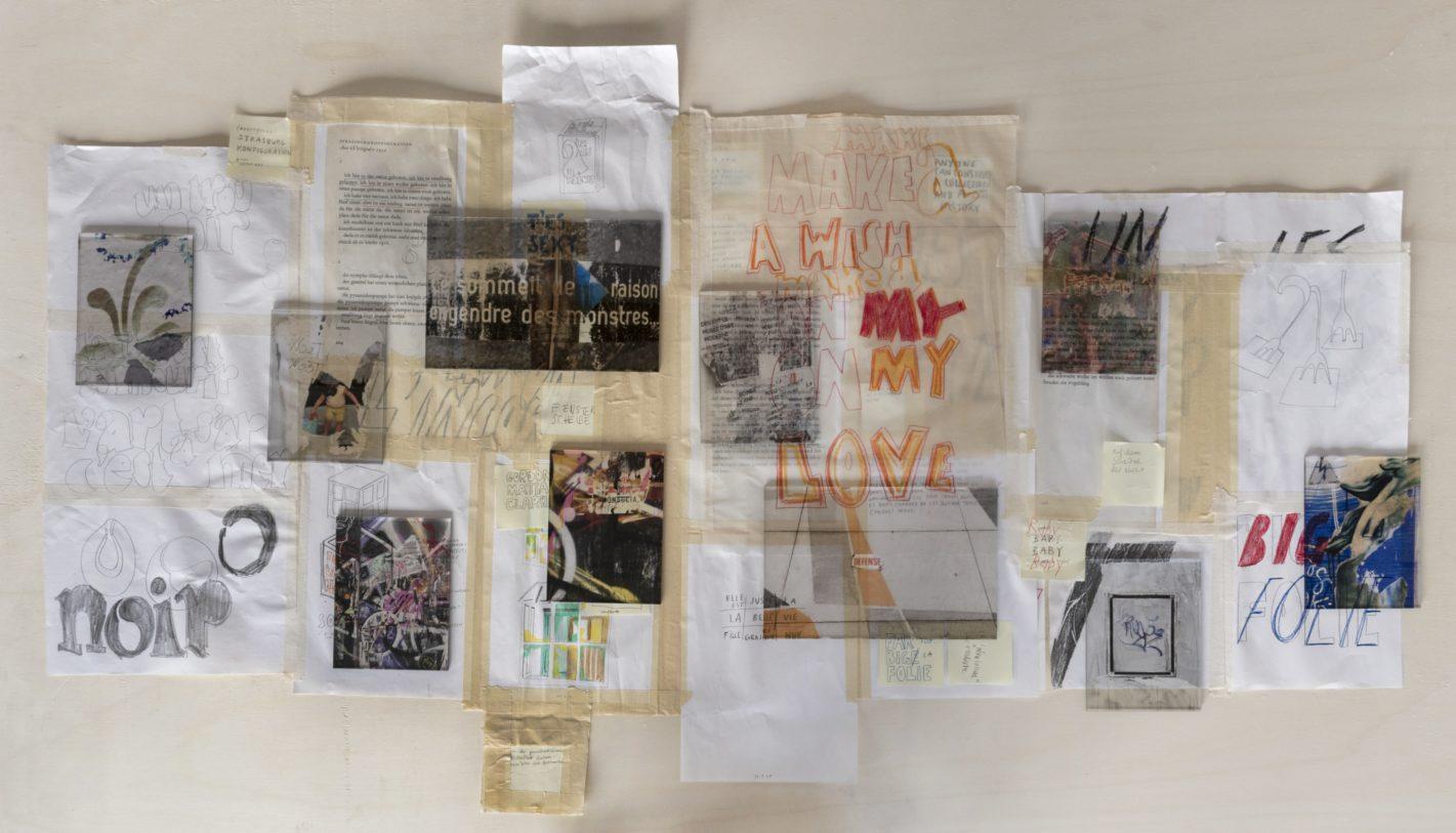 L'art c'est un trou noir, Julia Schmutz, vue d'exposition © R. Görgen