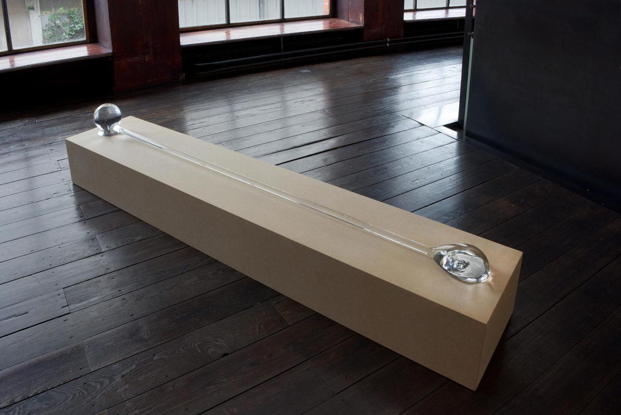 """Emmanuel Saulnier, """"Bouches reliées"""", vue de l'exposition """"Nouer le reste"""", CEAAC, 2021, ©R. Görgen"""