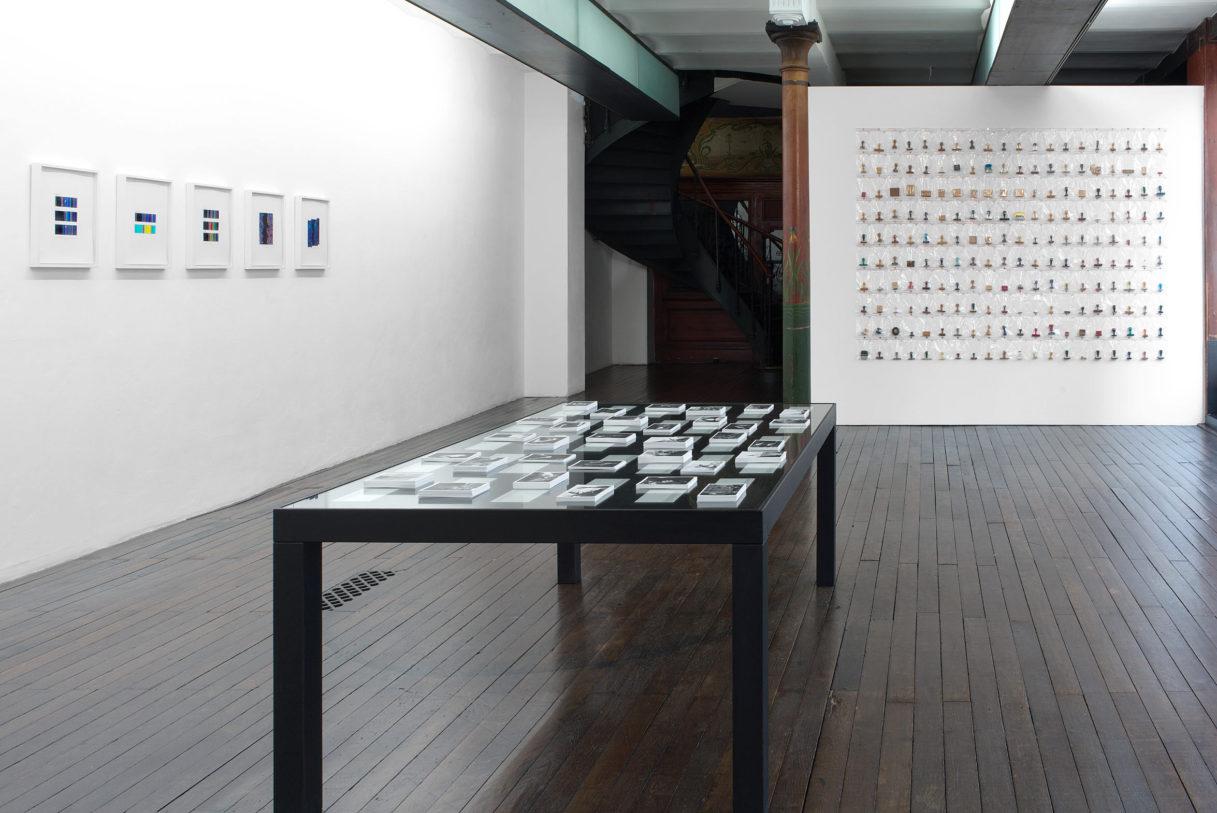 """Vue de l'exposition """"Nouer le reste"""", CEAAC, 2021, ©R. Görgen"""