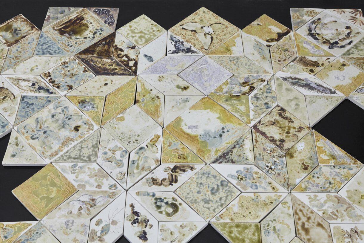 "Chiara Camoni, ""Sol (pour Clarice)"", 2021, produit par Residenza LeNove & Bottega- Nove. Courtesy Arcade, Londres & Bruxelles et SpazioA, Pistoia / Photo : Arthur Péquin"